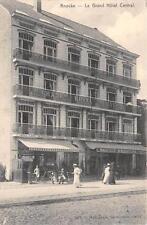 CPA BELGIQUE KNOCKE LE GRAND HOTEL CENTRAL (cliché pas courant