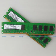 4G 2x2GB PC2-6400 DDR2-800 DDR2 800Mhz 240pin Desktop Memory Low Density RAM NEW