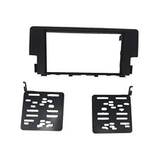 Double 2 Din Stereo Panel For Honda Civic 2016 Dash Trim Kit Fascia Face Frame