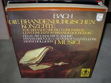I MUSICI / BACH brandenburg concertos ( classical ) 2lp box philips - booklet -