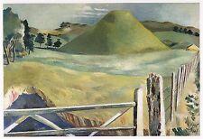 Silbury Hill, Paul Nash 10 x 12 inch ready mounted print SUPERB