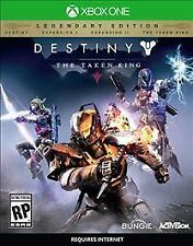 *NEW- Destiny: The Taken King - Legendary Edition - (Xbox One) + Expansion Packs