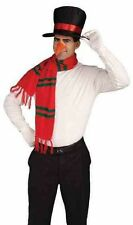 Snowman Costume Kit Hat Carrot Nose & Scarf Frosty Christmas One Size Unisex