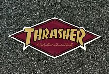 Thrasher Diamond Logo Skateboard sticker 4in si