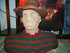 TALKING FREDDY BUST HALLOWEEN HORROR COLLECTIBLE - NIGHTMARE on ELM STREET LooK