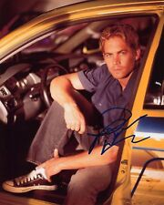 Paul Walker - Brian O'Conner -The Fast and the Furious- Signed Autograph REPRINT