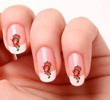 20 Nail Art calcomanías transferencias pegatinas # 577-Strawberry Shortcake