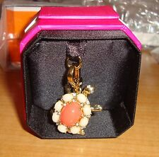 NEW JUICY COUTURE TURTLE CHARM FOR BRACELET, NECKLACE, HANDBAG OR KEYCHAIN