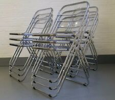 Castelli Folding Chairs - Memphis era - Industrial Modernist Eames