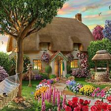 Garden Cottage 5D Diamond Embroidery Painting DIY Cross Stitch Home Decor Gift#5