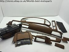 BMW E65 E66 740i FL (1) 2005 interior trim set RHD trims wood