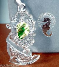 Waterford Crystal Seahorse Ornament Made in Ireland Engravable 107966 New In Box