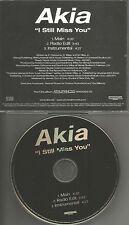 AKIA I still Miss you w/ RADIO EDIT & INSTRUMENTAL PROMO DJ CD Single 2003 MINT