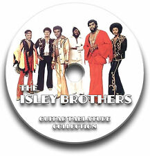 THE ISLEY BROTHERS ROCK GUITAR & BASS TABS TABLATURE SONG BOOK SOFTWARE CD