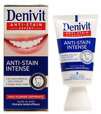 Denivit Anti-Stain Expert - 50ml - Intense Stain Removal and Whitens Teeth
