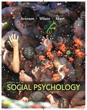 Social Psychology Timothy D. Wilson, Robin Akert, Elliot Aronson US 8TH EDITION