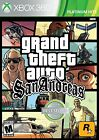 Grand Theft Auto: San Andreas (Xbox 360, NTSC, Video Game) Brand New Sealed