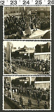 VINTAGE OLD B&W UNUSUAL PHOTOS OF A PARADE IN EUROPE #2982