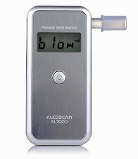 AL7000 Premium Breathalyzer - UK Seller,  Ideal Scottish Breathalyser HARD CASE