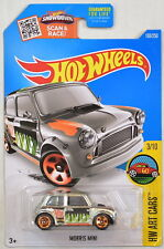 HOT WHEELS 2016 HW ART CARS MORRIS MINI #3/10 ZAMAC