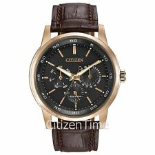 -NEW- Citizen Men's Dress BU2013-08E Eco-Drive Watch