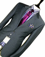 BNWT MENS PAUL SMITH THE WESTBOURNE LONDON TAILOR-MADE PINSTRIPE SUIT 42R W36