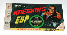 Vintage 1966 Kreskin's ESP Board Game - Milton Bradley