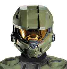 Master Chief Helmet Halo Military Fancy Dress Halloween Adult Costume Accessory