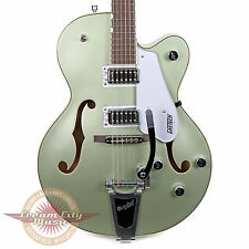 New 2016 Gretsch G5420T Electromatic Hollow Body in Aspen Green with Bigsby Demo