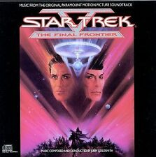 STAR TREK V: The Final Frontier (Original Soundtrack CD, 1989 Jerry Goldsmith)