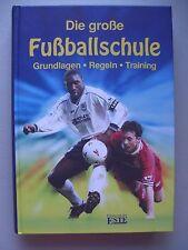 Die große Fußballschule Grundlagen Regeln Training 1998 Fußball
