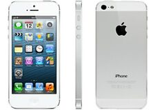 Apple iPhone 5 SIM FREE UNLOCKED - White (16GB, WHITE)