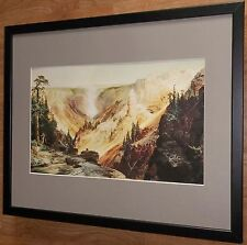 Grand Canyon, Yellowstone por Thomas Moran, Marco 20''x16''
