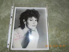 RAQUEL WELCH SIGNED ORIGINAL PHOTOGRAPH-1984
