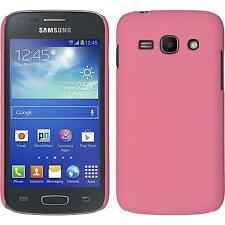 Hardcase Samsung Galaxy Ace 3 - rubberized pink + protective foils