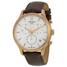 Tissot Tradition Classic Chronograph Rose Gold-plated Mens Watch JD5CJP