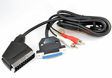 COMMODORE AMIGA A500 RGB SCART TV CABLE - 2 METRE LEAD