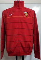 R C LENS RED HOOPED TRACK JACKET BY NIKE ADULTS SIZE XL BRAND NEW WITH TAGS