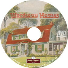 Montgomery Ward ~ Wardway Homes { 8 Vintage House Kit ~ Catalogs }  on DVD