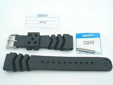 SEIKO GENUINE  22mm - WAVE DIVER STRAP 4FY8JZ / INCLUDES FAT C220FS SPRING BARS