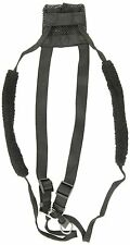 Sporn Nylon Non Pulling Dog Harness, Large/X-Large, Black, New, Free Shipping