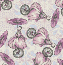 Tina Givens Riddles & Rhymes Unicycle Fabric in Candy PWTG153 100% Cotton