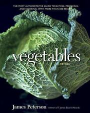 Vegetables (Revised) by James Peterson..NEW Illustrated Hardcover
