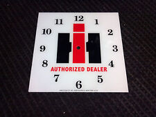 "*NEW* 15"" IH INTERNATIONAL HARVESTER HOT ROD SQUARE GLASS clock FACE FOR PAM"