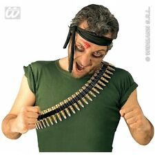 Bullet Belt PVC for Novelty Toy Soldier Fancy Dress