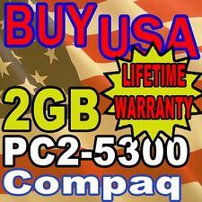 2GB PC2-5300 Compaq 8510w 8710p 6510b 6715b MEMORY RAM