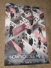 NOW YOU SEE ME 2 INTERNATIONAL 27x39 ORIGINAL S/S MOVIE POSTER