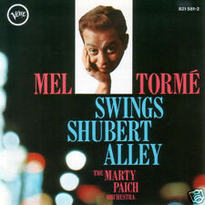 MEL TORME: Swings Shubert Alley with The Marty Paich Orchestra [CD] Verve 1960