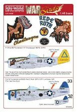 Kits-world KW148088 1/48 P-47 thunderbolt model decals