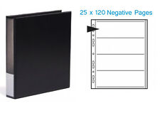 Kenro Negative Binder and 25 x 120 Negative Pages
